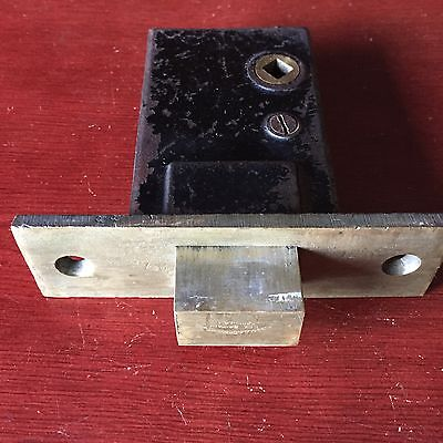Antique Large Russell & Erwin Mortise Safety Privacy  Heavy Duty lock