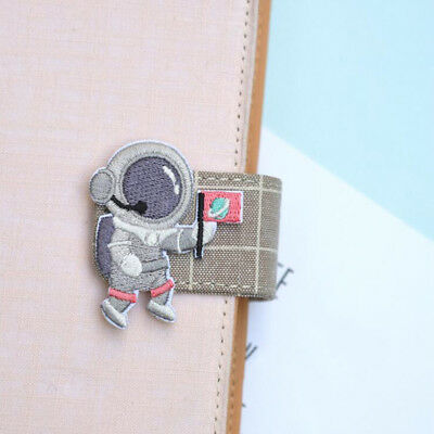 DIY Astronaut Satellite UFO Moon Embroidery Patch Clothing Jeans Badges Decor S
