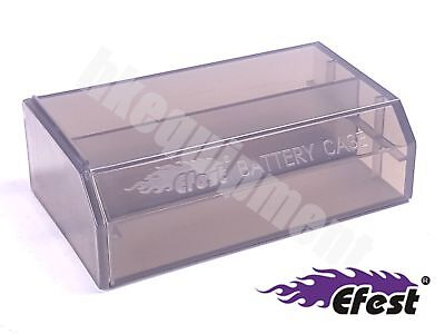 EFEST L2 18650 Battery Protection Case Storage Box Black x2