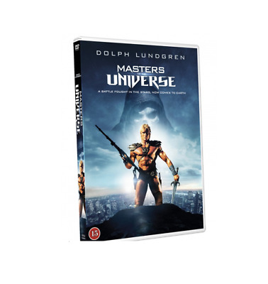 MASTERS OF THE UNIVERSE DVD He-Man Dolph Lundgren RARE Gift idea Movie He Man