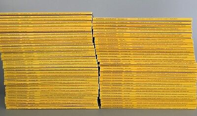National Geographic One Complete Year (12 Issues) [Pick From 1992 to 2017]