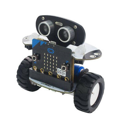 Smart 2WD Programmable Self Balancing RC Robot Car DIY Kit Micro: bit Board