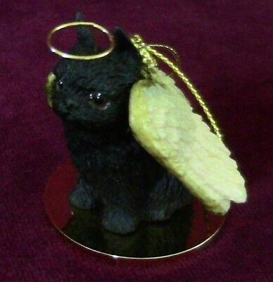 Brussels Griffon (black) Angel ~  Proceeds for Red Leash Rescue~Excellent Deal!