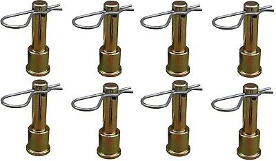 Quick Release Shock Mount Pin with Clip 8 Pack