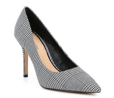 b52a948d8e CHANEL Cruise 2015 Black Leather Pearl Embellished Pointed Toe Pumps Heels.  $594.00 Buy It Now 13d 20h. See Details. Gianni Bini Black White Plaid ...