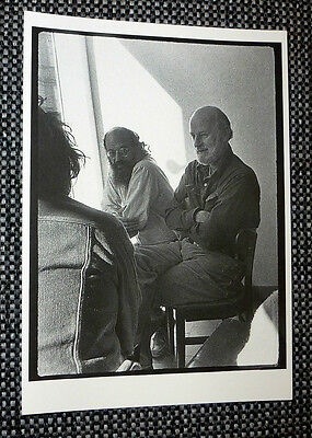 ALLEN GINSBERG, LAWRENCE FERLINGHETTI, GREGORY CORSO in North Beach, SF  4¼ x 6""