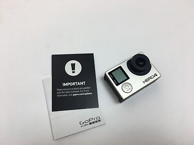 Genuine GoPro Hero 4 Black Edition Action Cam with LCD Touch BacPac and Extras