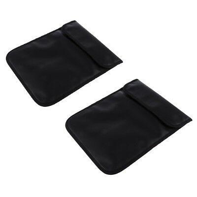 2 Car Key Signal Blocker Case Pouch RFID Blocking Bags for iPad Tablet Phone