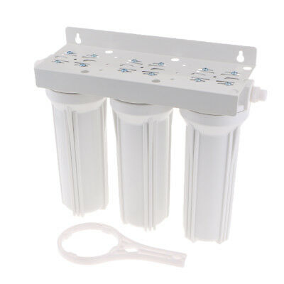 """10"""" Whole Housing Water Filter 3 Stage Sediment Carbon Treatment Purifier"""