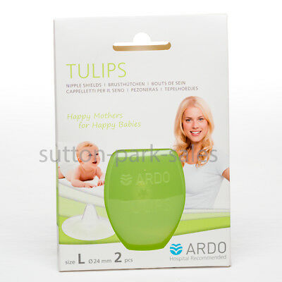 Ardo Tulips Nipple Shields (L) 24mm