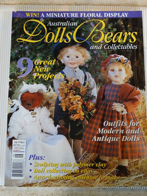Dolls Bears Collectables Magazine Vol 11 No 2