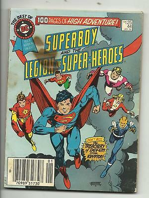 Best of DC Blue Ribbon Digest #44 - Superboy - Legion of Super-Heroes GD 2.0