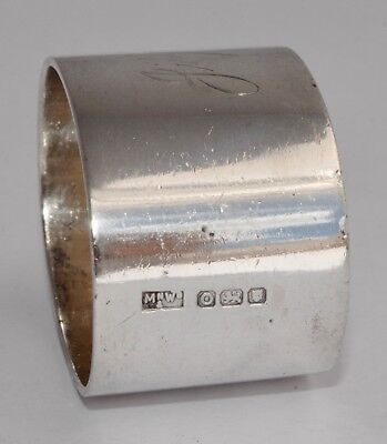 54g Heavy 1949 Vintage MAPPIN & WEBB Sterling Silver Napkin Ring