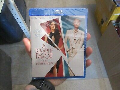 BRAND NEW A Simple Favor (Blu Ray + Digital)