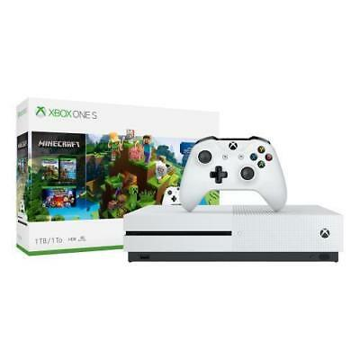 Xbox One S 1TB Minecraft Bundle - Brand New and Sealed - Free Shipping!