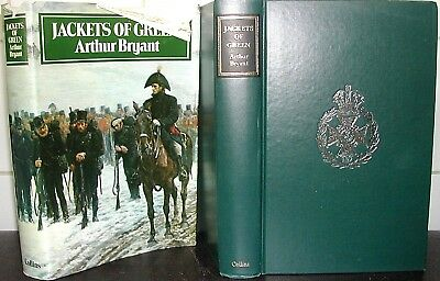 JACKETS of GREEN Arthur Bryant SIGNED RIFLE BRIGADE British Army GREENJACKETS