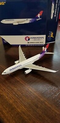 1/400 GeminiJets Hawaiian Airlines Airbus A330-200 (old livery)