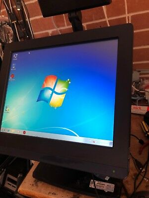 HP RP7 Retail POS System 7800 i5-2400 3.1GHZ,4GB RAM,240GB SSD HDD Touch Screen.