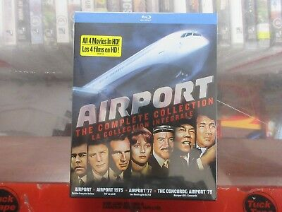 BRAND NEW Airport The Complete Collection (Blu Ray)