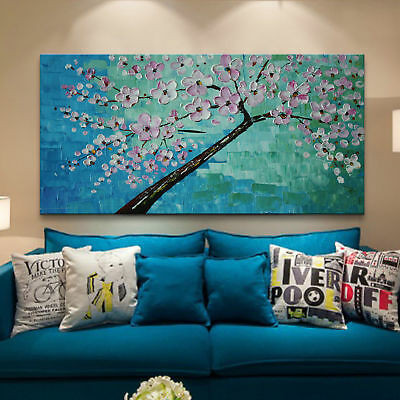 ZOPT302 abstract landscape flower tree  hand painted oil painting art on canvas