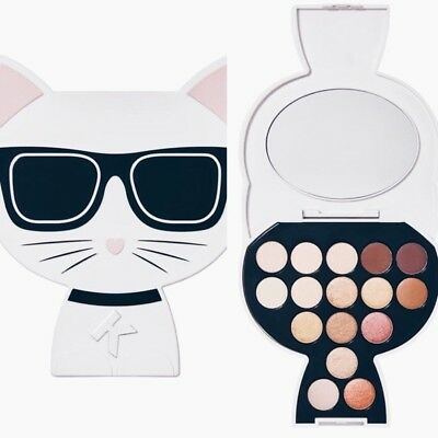Karl Lagerfeld + Model co Choupette Eyeshadow Palette Day to Night Warm Nude $65