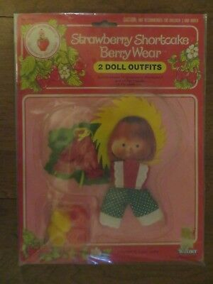 STRAWBERRY SHORTCAKE DOLL CHARMS KENNER SEALED 1980/'S MINT 3 VERY RARE!