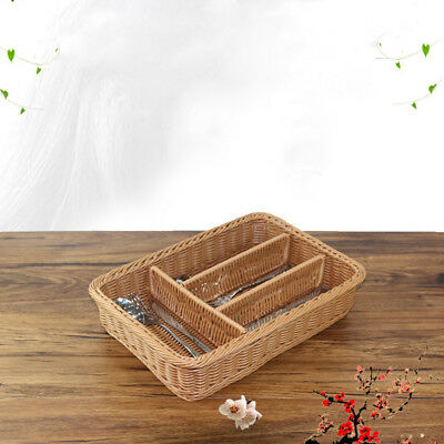 Kitchen Cutlery Storage Basket Knife Forks Storage Container Tray for Home Hotel