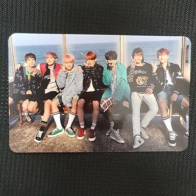 Group - BTS You Never Walk Alone 2nd Album Official Photocard Kpop