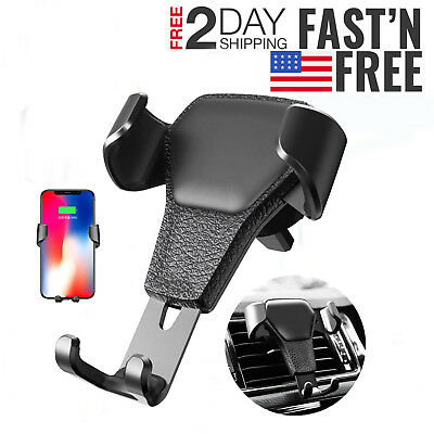 In Car Universal Car Mobile Phone Cell Phone Stand Holder Air Vent Mount Clip Lw