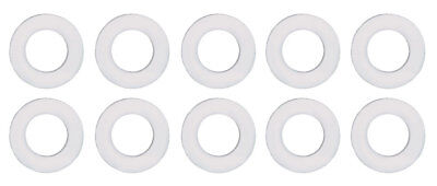 "Moroso 97011 Oil Pan Drain Plug Sealing Washer Nylon - 1/2""x/7/8"" - 10 pc"