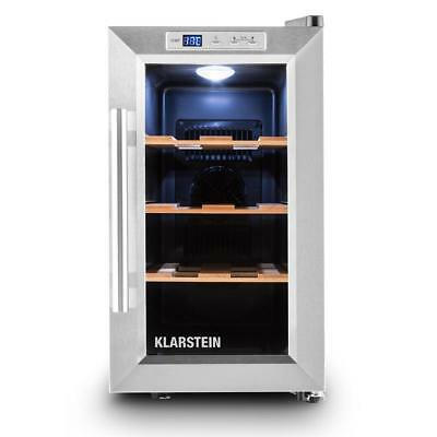 CAVE A VIN 25 LITRES KLARSTEIN ARMOIRE REFRIGEREE VINOTHEQUE CLASSE B 30dB NEUVE