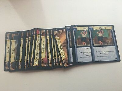 Job Lot Bulk Harry Potter tcg ccg Diagon Alley X 48 cards Commons + Uncommons