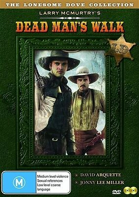 Lonesome Dove Collection DEAD MAN'S WALK DVD NEW AND SEALED( 2 DISC SET)