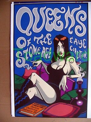 a2 queens of the stone age tour poster 26 2 2003 ventura