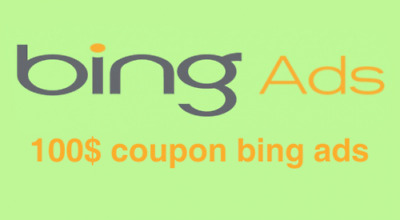 Bing Ads Code Charged With 100 Dollars Credit Only For 2 dollar
