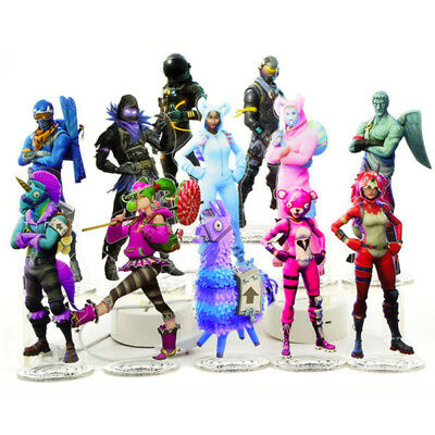 """Fortnite Character Toy Figure Acrylic Stand Toys Table Desk Decoration 8.25"""""""