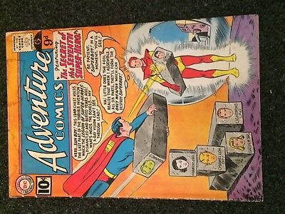ADVENTURE COMICS 290 (DC) 9th LEGION 1st SUNBOY! ORIGIN Swan/Papp/Forte KEY 1961