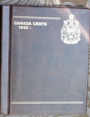 GardMaster Album Canada One Cent Collection from 1920-2012  (106 coins total)