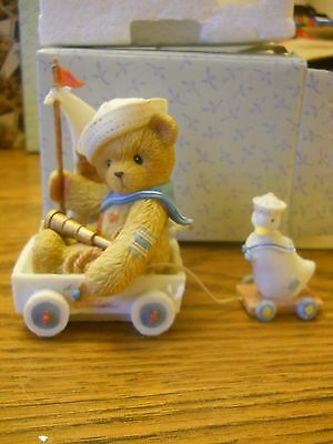 """Cherished Teddies 104677 Dawson""""You're The Wind that Lifts My Sails """" New in Box"""
