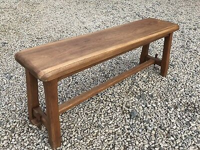 Astounding Stunning Antique Vintage French Solid Oak Bench Seat Sturdy Pdpeps Interior Chair Design Pdpepsorg