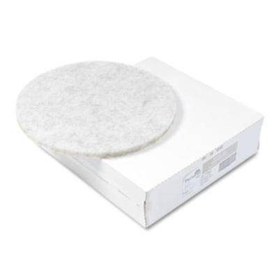 """Premier 4020NAT Ultra High-speed Floor Pads, Natural Hair/polyester, 20"""" Dia,"""