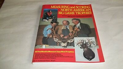 1985 Measuring And Scoring North American Big Game Trophies Boone & Crockett