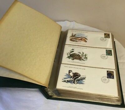 The Official Collection Of World Wildlife First Day Cover (In Album) 1976-79
