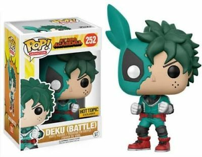 Funko Pop New Battle Deku Hot Topic My Hero Academia Exclusive