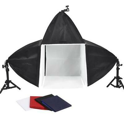 """16"""" Photo Cube Studio Light Tent 3 Softboxes Kit - Excellent Condition - Used 1X"""