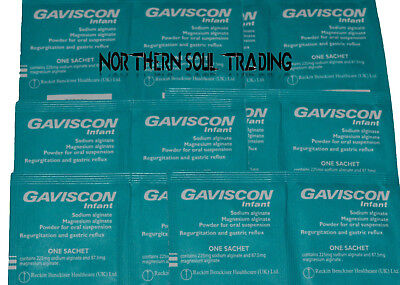 Gaviscon Infant X 30 Sachets *gastric Reflux Etc* Expiry 2021 - No Box