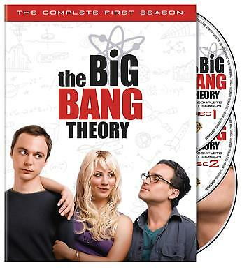Big Bang Theory - The Complete First Season one (DVD, 2008, 3-Disc Set)