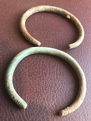 Ancient Artifact > Pair of Rare Sarmatian Bracelets, 3rd - 5th Centuries AD VV18