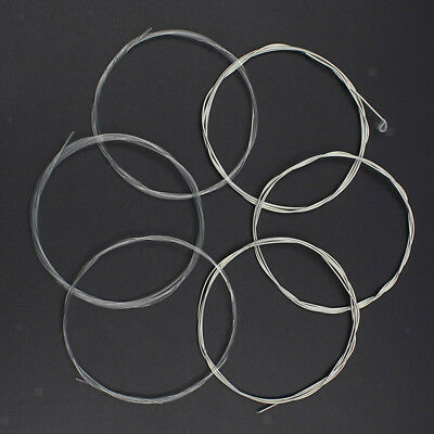 6 Pcs of Set Classical Guitar String Set E B G D A E Strings Replacement
