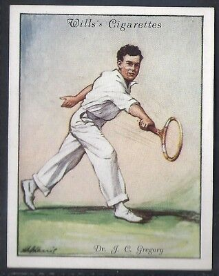 Wills-Lawn Tennis 1931-#10- Dr Gregory